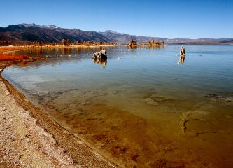 Mono Lake, California - home to the arsenic loving bacteria