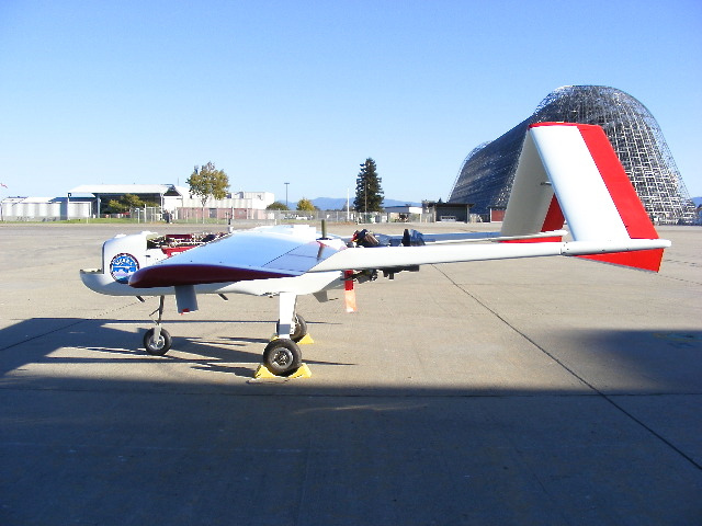 SIERRA Aircraft in Surprise Valley