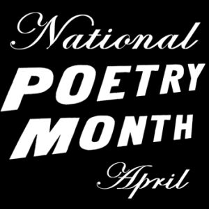 National Poetry Month Logo