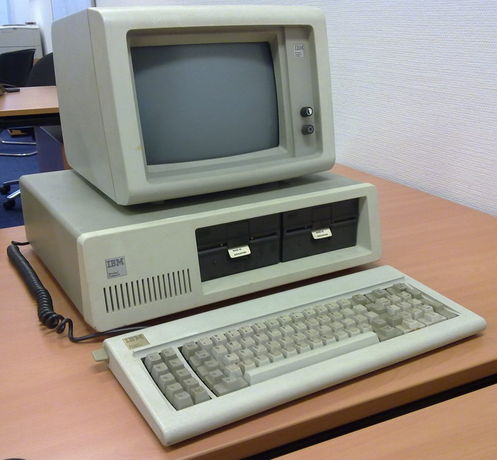 On August 12, 1981, IBM introduced the first personal computer, the Model 5150.