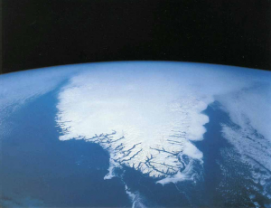 Satellite Image of Greenland, 1992