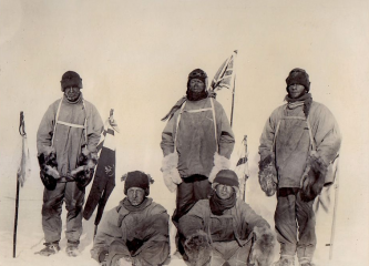 In 1912, five British scientists and explorers set out to reach the South Pole.