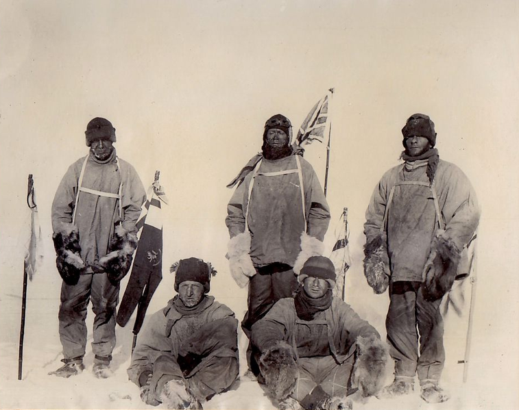 In 1911, five British scientists and explorers set out to reach the South Pole on foot.