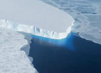 The Thwaites Glacier in West Antarctica. (Credit: NASA.)