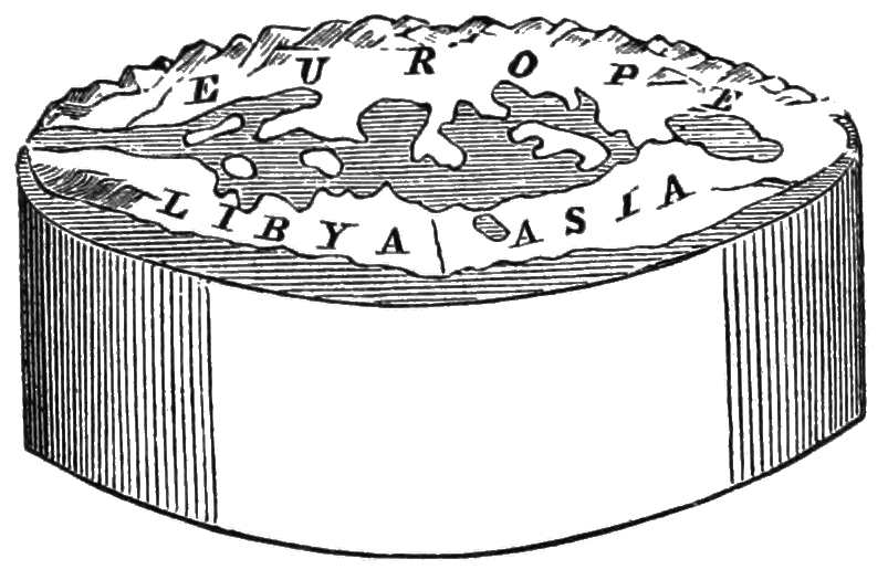 Anaximander cylindrical earth