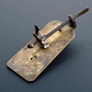 El microscopio simple de van Leeuwenhoek