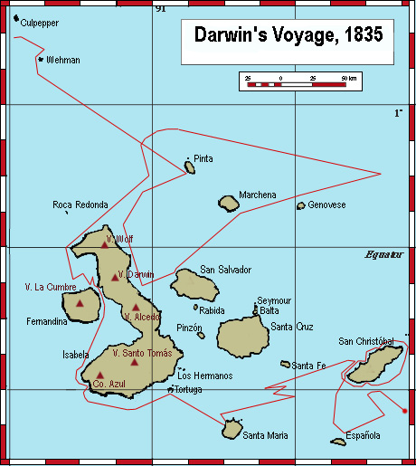 Darwin S Voyage Galapagos Islands