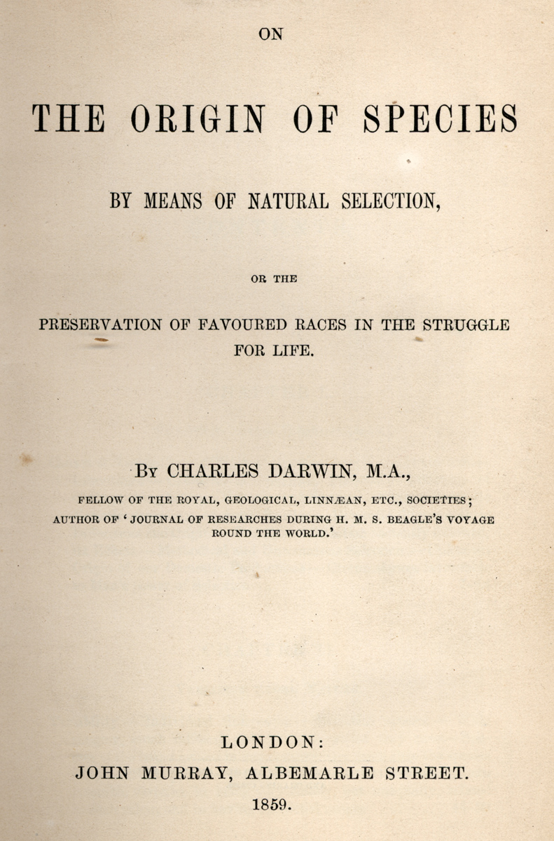 the charles darwins theory of evolution as perceived throughout the history Charles darwin (1809 his crowning masterpiece as perceived by science darwin was prompted to publish it earlier when his friend alfred russel wallace contacted him which form the basis of the theory of evolution he concluded.