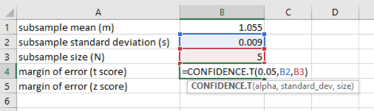 Confidence Intervals | Math in Science | Visionlearning