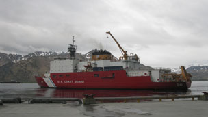 USCGS Healy in Dutch Harbor