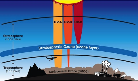 Layers of ozone