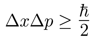 Heisenberg Uncertainty Principle equation