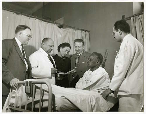 Dr. Wright in Harlem Hospital