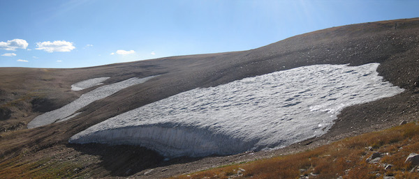 Ice patch panorama