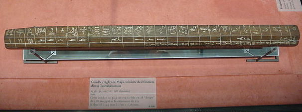 Egyptian cubit rod