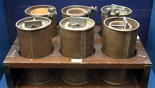 Daniell battery cells